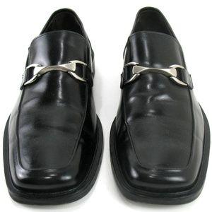 Johnston & Murphy Leather Horse Bit Loafers Sz 9M